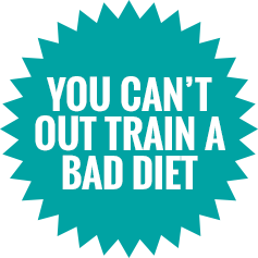 You Can't Out Train A Bad Diet Starburst
